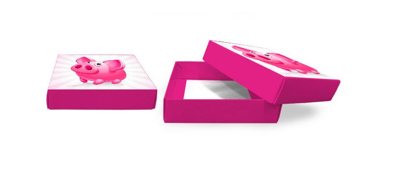 Schachtel stülpen Karton Geschenk günstig billig drucken
