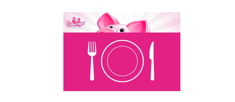 Tischset Tischsets Gastro Hotel Restaurant günstig billig drucken bedrucken