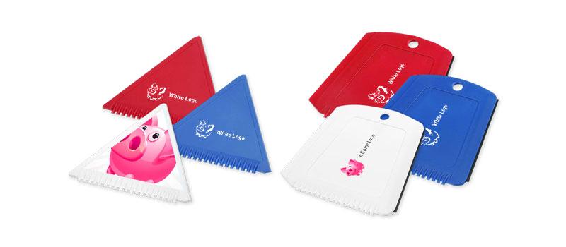 Eiskratzer mit Logo Firmenlogo Restaurant Hotel bedrucken günstig billig drucken
