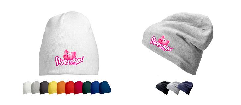 Mütze Kappen mit Logo Firmenlogo Restaurant Hotel bedrucken günstig billig drucken