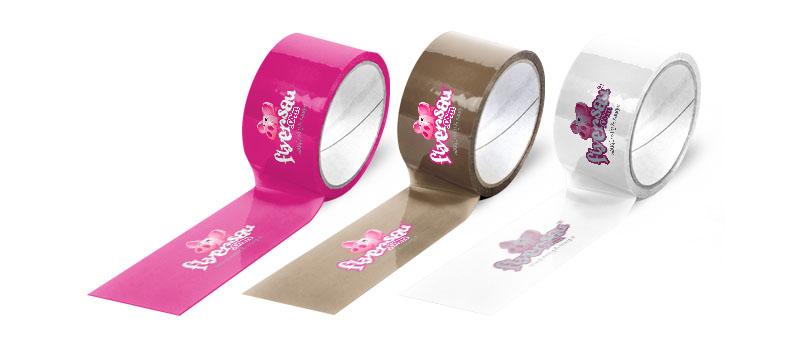Klebeband Klebband Kleber Band mit Logo Firmenlogo günstig machen billig drucken